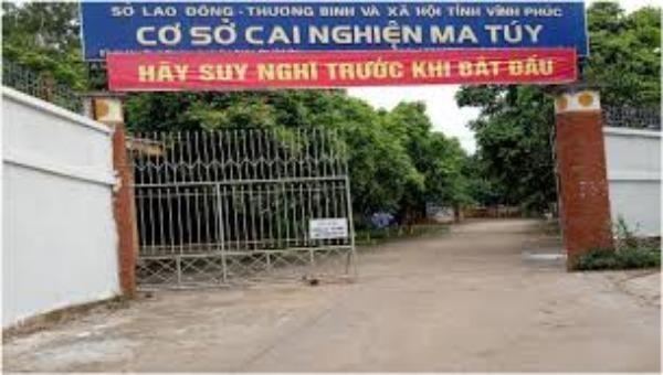 Cơ sở cai nghiện ma túy tỉnh Vĩnh Phúc. Ảnh: Sở LĐTB&XH Vĩnh Phúc