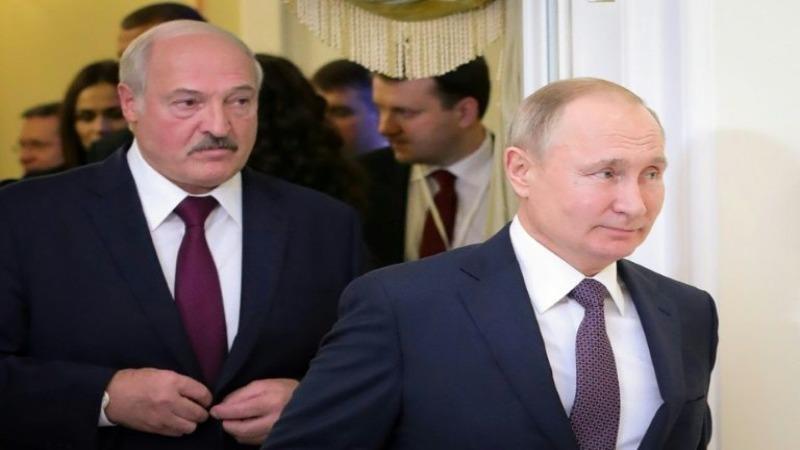 Ông Alexander Lukashenko (trái) và Tổng thống Nga Vladimir Putin sẽ gặp gỡ vào ngày 14/9.