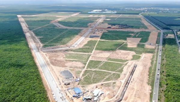 Khu tái định cư để xây dựng sân bay Long Thành. Ảnh: VNN