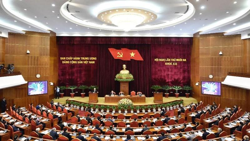 Hội nghị Trung ương 13 xem xét, thảo luận về nội dung phát triển kinh tế - xã hội liên tục trong 3 ngày làm việc (từ 5-7/10).