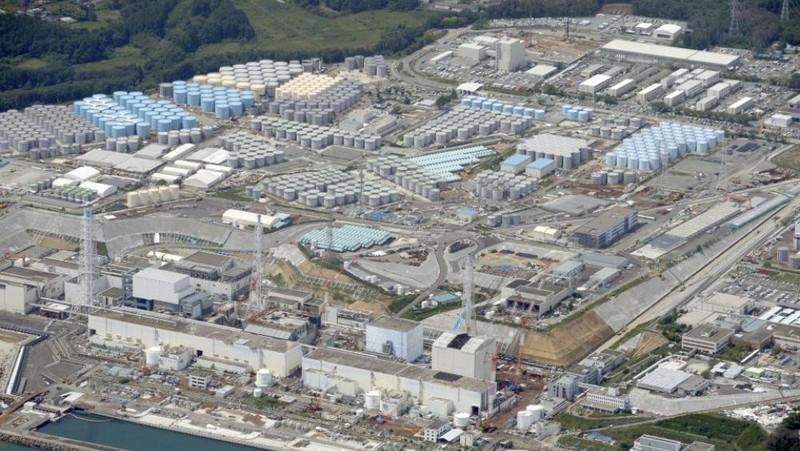 Nhà máy điện hạt nhân Fukushima Daiichi đã bị tê liệt do thảm họa động đất và sóng thần mạnh vào năm 2011. Ảnh: Kyodonews