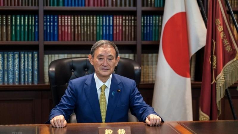 Tân Thủ tướng Nhật Bản Yoshihide Suga. Ảnh: AFP/TTXVN