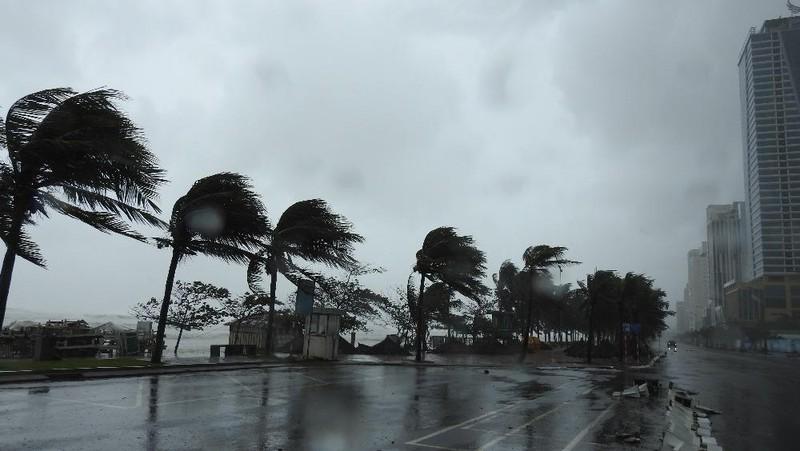 Bão số 9 gió giật cấp 12 ở trên đất liền Quảng Nam, Quảng Ngãi, cảnh báo nguy cơ sạt lở đất