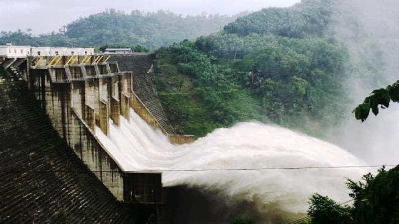 Các thuỷ điện ở Quảng Nam xả lũ sau bão số 9.