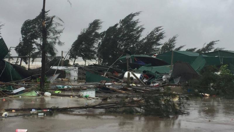 Hoàn lưu bão gây mưa, lũ lụt, sạt lở đất, thiệt hại rất lớn. Ảnh minh hoạ: giadinh.net.vn