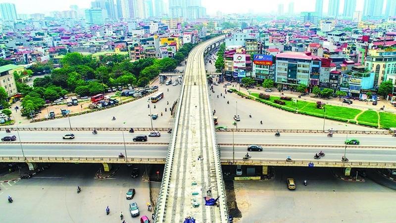 Thanh tra Chính phủ chỉ ra nhiều sai phạm dự án tuyến đường sắt đô thị Nhổn-ga Hà Nội. Ảnh: baogiaothong