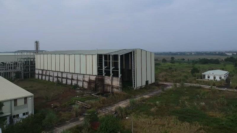 Nhiều hạng mục của dự án Ethanol Phú Thọ đã cơ bản hoàn thành nhưng bị bỏ hoang gần 10 năm nay.