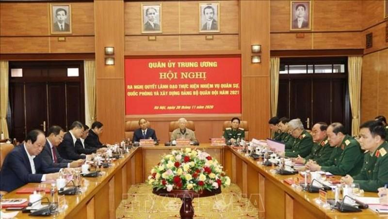 Hội nghị Quân ủy Trung ương: Nâng cao chất lượng xây dựng Quân đội đáp ứng yêu cầu hiện đại
