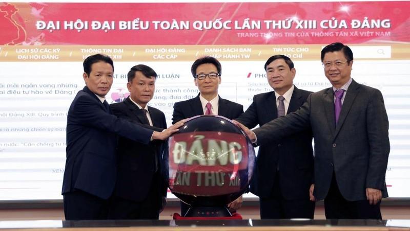 Ra mắt Trang thông tin daihoidang.vn