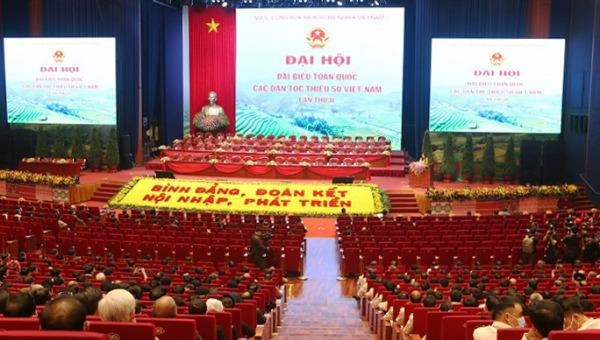 Đại hội Đại biểu toàn quốc các DTTS Việt Nam: Xây dựng khối đại đoàn kết các dân tộc