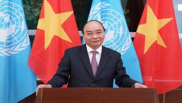 Thủ tướng gửi thông điệp đến phiên họp đặc biệt của Liên Hợp Quốc về COVID-19.
