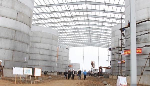 Nhà máy Sản xuất nhiên liệu sinh học Ethanol Phú Thọ. Ảnh: pvc.vn