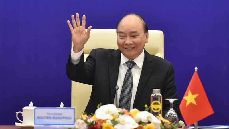 Thủ tướng Nguyễn Xuân Phúc dự Hội nghị ACMECS lần thứ 9 - Ảnh: VGP/Quang Hiếu