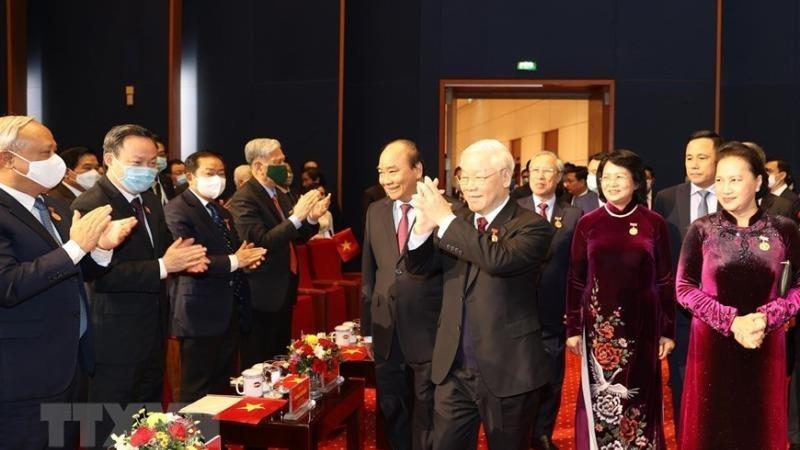 """Tổng Bí thư, Chủ tịch nước Nguyễn Phú Trọng: """"Thi đua là để đào tạo, rèn luyện được con người mới"""""""