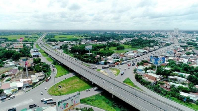 Đoạn giao giữa cao tốc Biên Hòa - Vũng Tàu với Quốc lộ 51