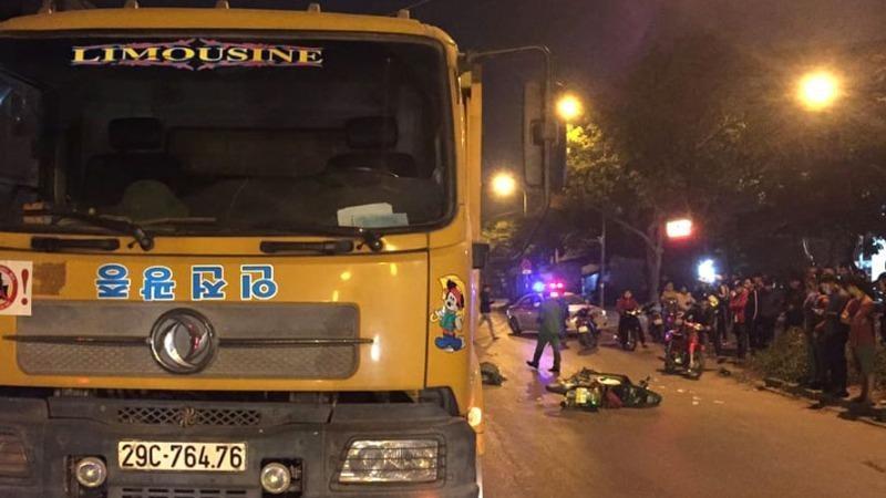 Hà Nội: Chưa xác định được danh tính tài xế xe tải trong vụ tai nạn 1 người tử vong