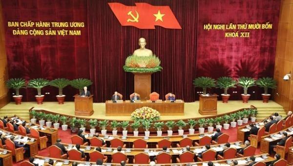 Ngày làm việc thứ ba Hội nghị Trung ương 14: Thảo luận dự thảo Báo cáo kiểm điểm của BCH TW Đảng khoá XII