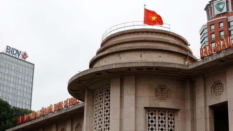 Trụ sở Ngân hàng Nhà nước Việt Nam. Ảnh: Reuters