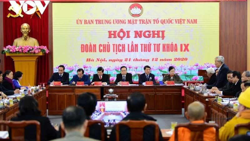 Hội nghị Đoàn Chủ tịch Ủy ban Trung ương MTTQ Việt Nam lần thứ 4 (Khóa 9).