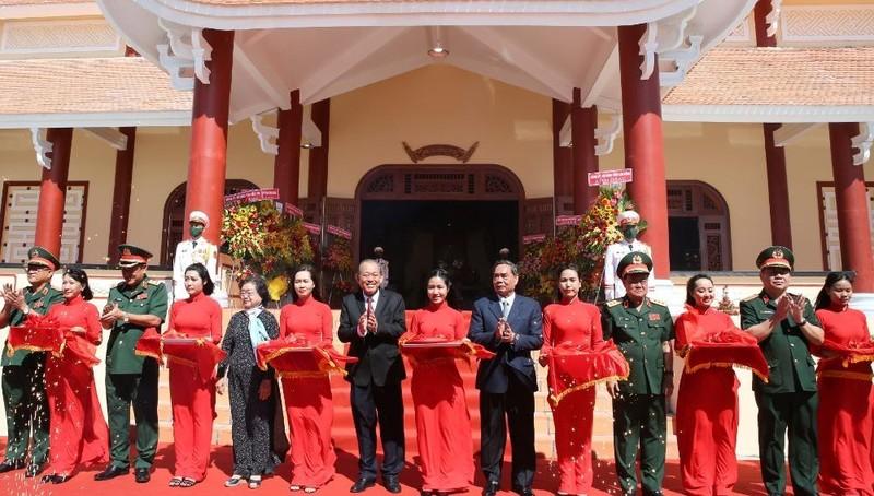 Khánh thành Di tích lịch sử quốc gia khu vực Đồn Long Khốt