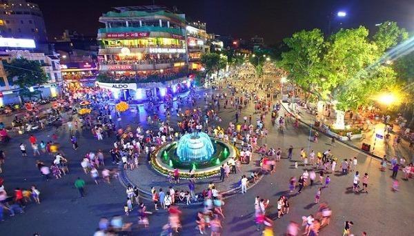 Mở rộng không gian đi bộ phía Nam khu phố cổ Hà Nội từ ngày 1/1/2021