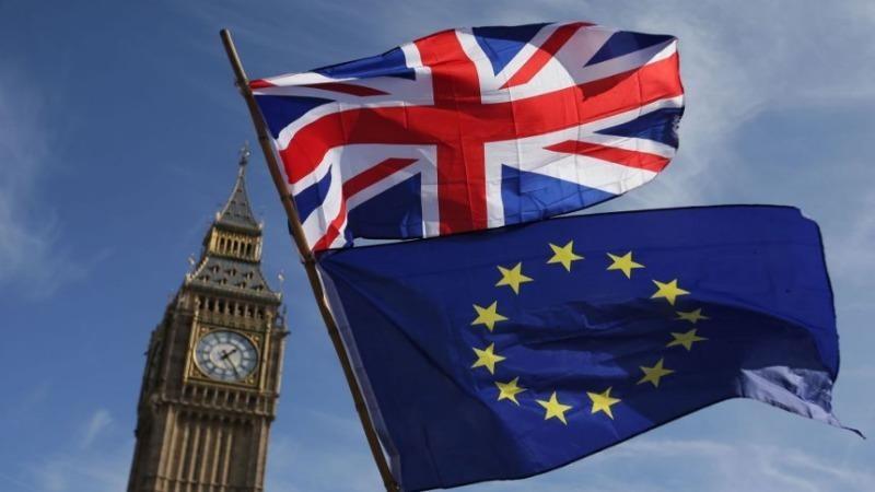 Thỏa thuận thương mại hậu Brexit mà EU và Anh đạt được đang chờ Nghị viện EU thông qua. Ảnh: AFP