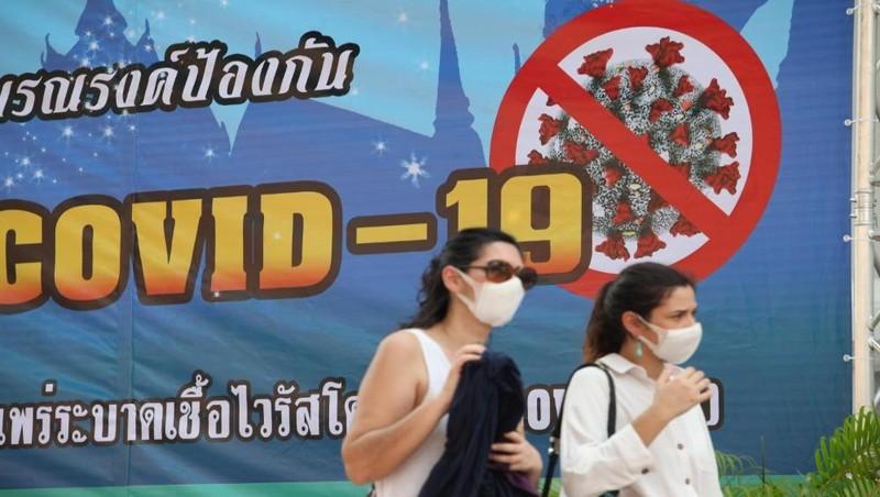 """Thái Lan cảnh báo phong toả toàn quốc vào tháng 3 nếu người dân """"không hợp tác"""" phòng Covid-19. Ảnh: BKP"""
