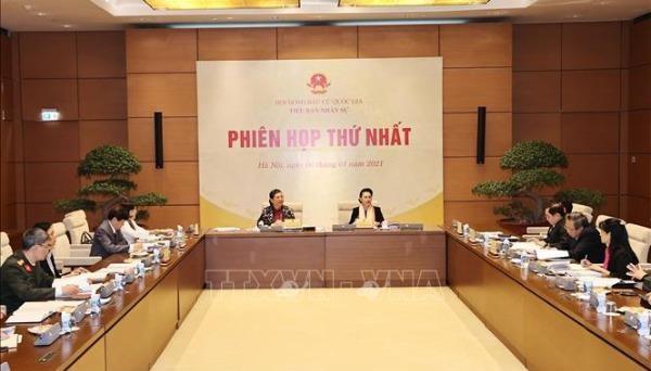 Phiên họp thứ nhất Tiểu ban Nhân sự, Hội đồng Bầu cử quốc gia: Dự kiến số lượng, cơ cấu, thành phần đại biểu Quốc hội khóa XV