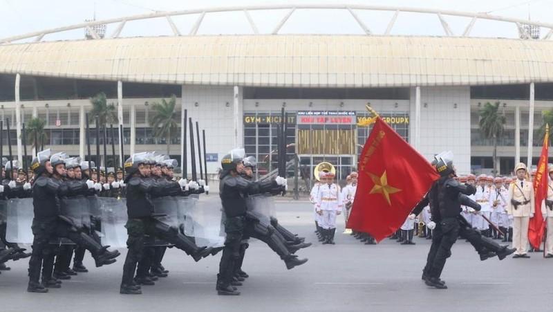 """Lực lượng công an cả nước đã bước vào trạng thái """"sẵn sàng mới"""" để bảo vệ Đại hội lần thứ XIII của Đảng"""