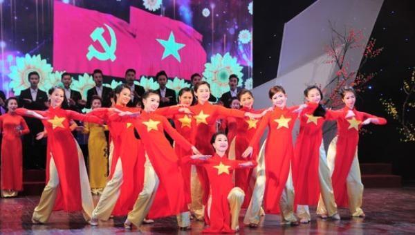 Chương trình nghệ thuật chương trình chào mừng Đại hội XIII sẽ được tổ chức vào ngày 2/2, tại sân vận động Quốc gia Mỹ Đình (Hà Nội). Ảnh minh hoạ