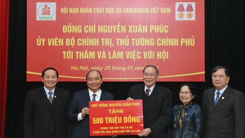 Kiên trì đấu tranh đòi công lý cho nạn nhân chất độc da cam/dioxin