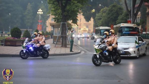 Đảm bảo giao thông thông suốt phục vụ Đại hội Đảng XIII