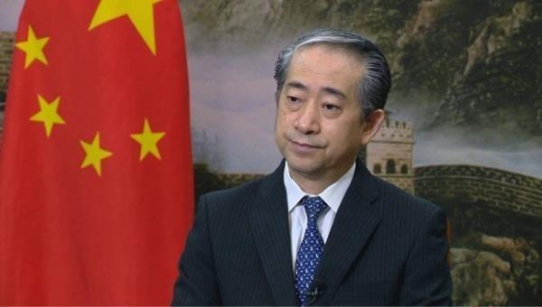 Đại sứ Trung Quốc Hùng Ba.