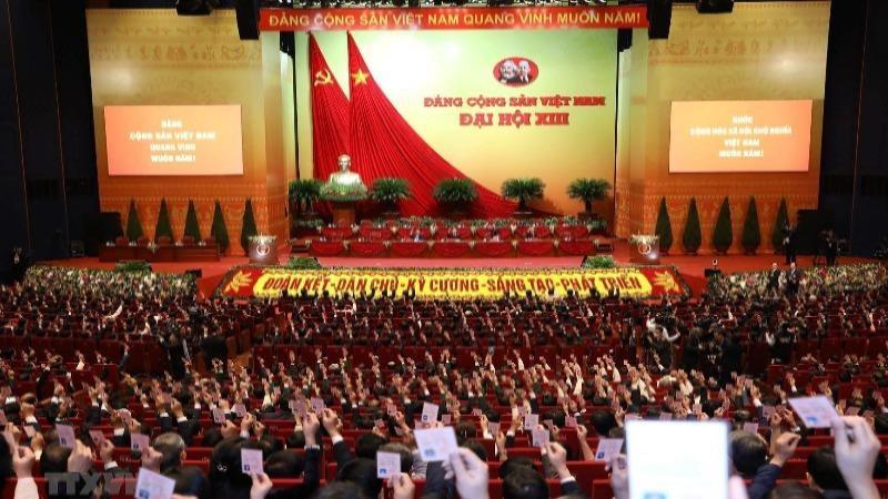 Đoàn Chủ tịch Đại hội Đảng lần thứ XIII gồm 17 đồng chí