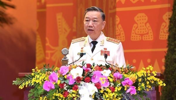 Bộ trưởng Bộ Công an Tô Lâm: Còn nhiều thách thức lớn đe dọa trực tiếp đến sinh mệnh của Đảng và sự tồn vong của chế độ