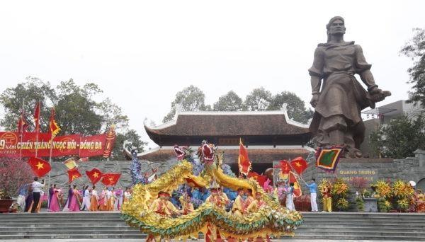Hà Nội có thể chủ động chỉ đạo tạm ngừng tổ chức lễ hội lớn khi có nguy cơ lây nhiễm Covid-19 trong cộng đồng. Ảnh minh họa: sovhtt.hanoi.gov.vn