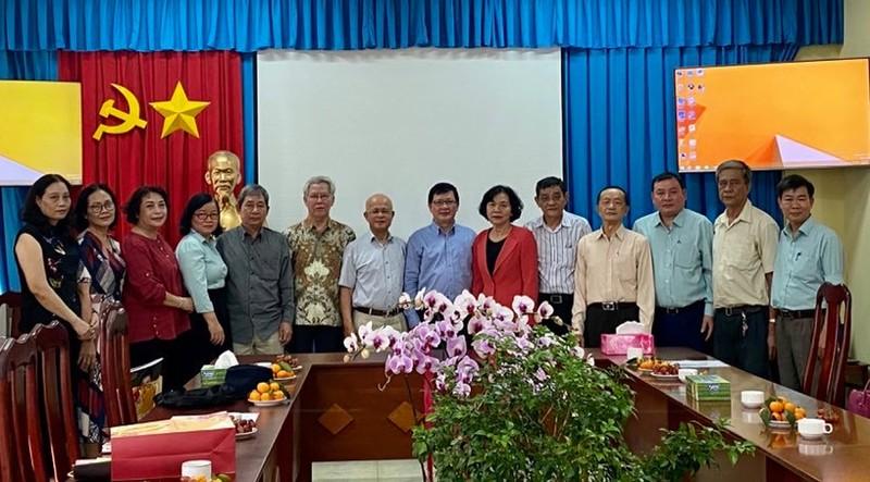 Gặp mặt các cán bộ hưu trí Bộ Tư pháp khu vực phía nam nhân dịp Xuân Tân Sửu 2021
