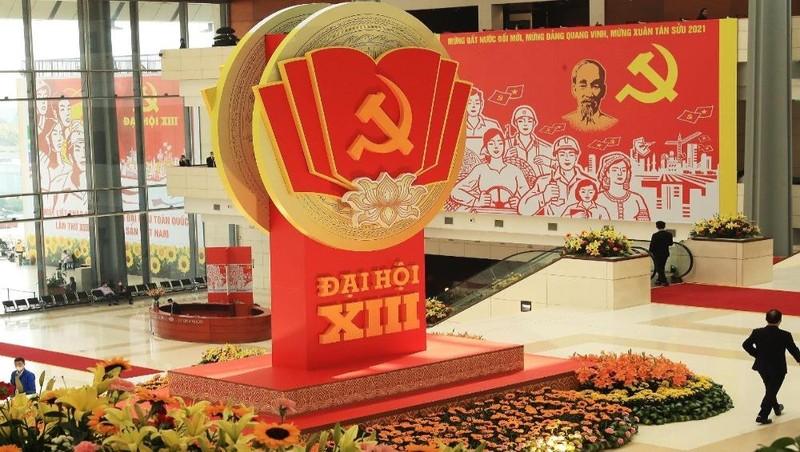 Đại hội đại biểu toàn quốc lần thứ XIII của Đảng diễn ra tại Trung tâm Hội nghị Quốc gia (Thủ đô Hà Nội).