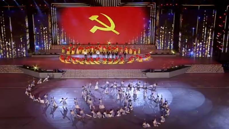 """Chương trình """"Khát vọng - Tỏa sáng"""" để chào mừng thành công Đại hội XIII của Đảng."""