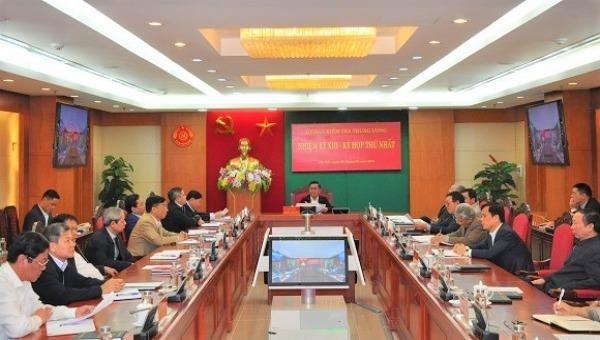 Ủy ban Kiểm tra Trung ương bầu các Phó Chủ nhiệm