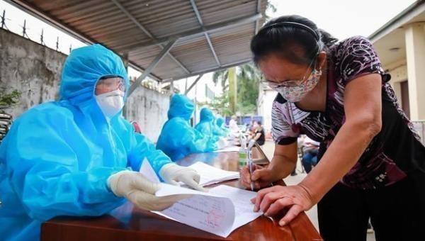 Các địa phương đang tích cực truy vết các ca nhiễm Covid-19. Ảnh minh họa