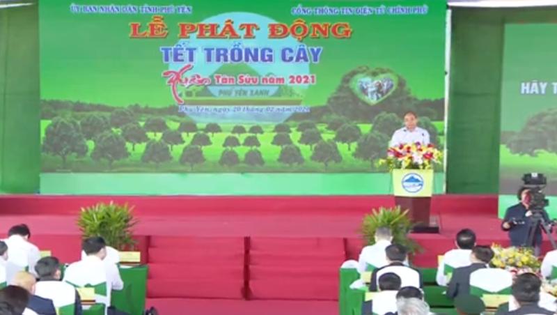 """Thủ tướng Nguyễn Xuân Phúc kêu gọi """"cùng xắn tay gieo mầm xanh của sự sống"""""""