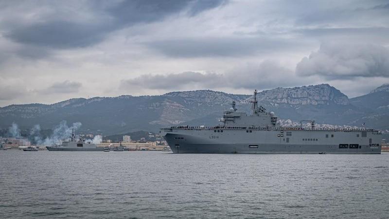 Pháp tăng cường sự hiện diện quân sự ở Biển Đông