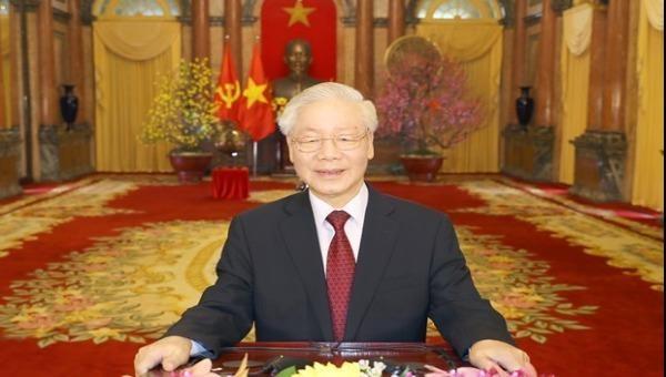 Thư và điện chúc mừng Tổng Bí thư, Chủ tịch nước Nguyễn Phú Trọng