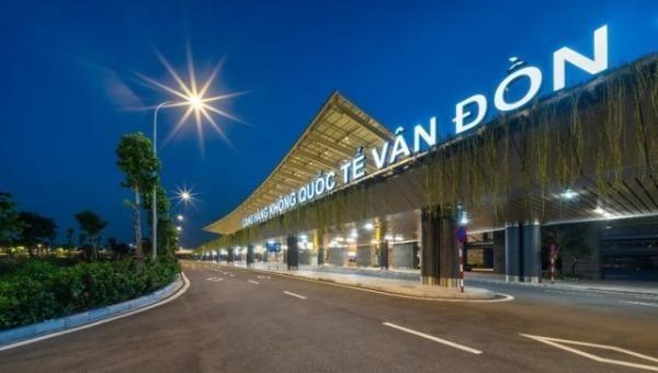 Cảng hàng không quốc tế Vân Đồn được mở cửa khai thác trở lại từ  06h01' ngày 3/3/2021.