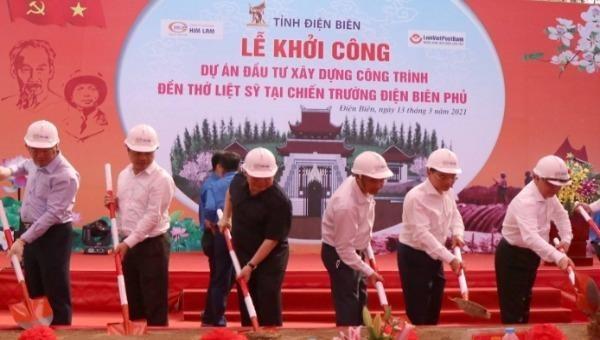 Xây dựng Đền thờ Liệt sĩ tại Chiến trường Điện Biên Phủ