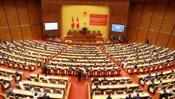 Hội nghị tại điểm cầu chính - Phòng họp Diên Hồng, Nhà Quốc hội (Hà Nội). Ảnh: Phương Hoa/TTXVN