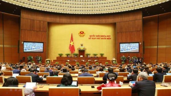 Quốc hội đang làm quy trình miễn nhiệm Thủ tướng Chính phủ và bầu Chủ tịch nước.