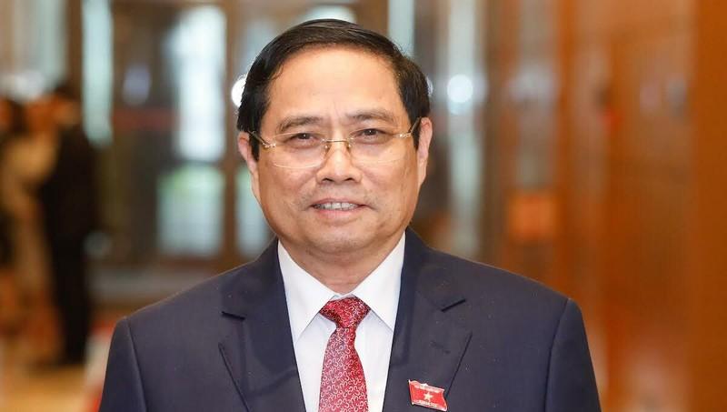 Ông Phạm Minh Chính được giới thiệu để Quốc hội bầu Thủ tướng Chính phủ.