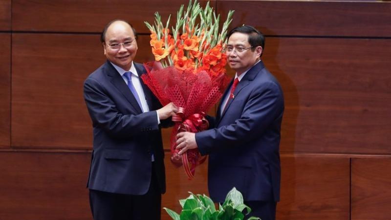 Lãnh đạo nhiều nước và WEF chúc mừng các tân lãnh đạo Nhà nước, Chính phủ Việt Nam